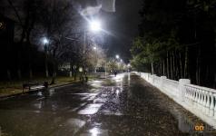 Короткое замыкание уличных фонарей в Павлодаре объясняют пусконаладочными работами