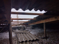 В двух школах Павлодарской области ураганный ветер частично сорвал кровлю