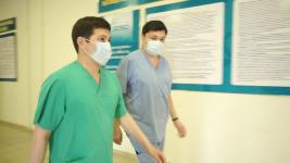 Аким Павлодарской области посетил несколько провизорных госпиталей