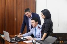 День открытых дверей для родителей полицейских прошел в Павлодаре