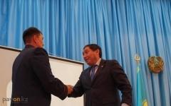 В Павлодаре сотрудники местной полиции получили первые премии за успехи на службе
