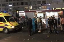В Павлодаре водитель Яндекс-такси протаранил иномарку