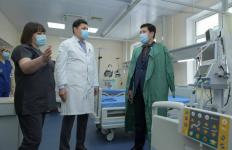 Абылкаир Скаков посетил открывшееся отделение экстренной помощи и инсультный центр в Павлодаре