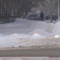 Более, чем на полмиллиона тенге выписали штрафов полицейские за неубранный снег