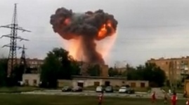 Взрывы произошли на военном складе в Самарской области