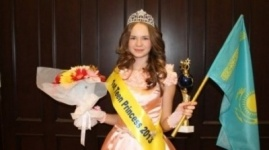 Казахстанка завоевала титул «Первой принцессы» на Little Miss World-2013