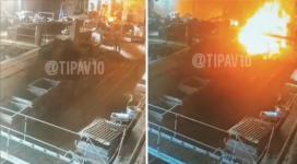 Видео взрыва на заводе в Павлодаре появилось в Сети
