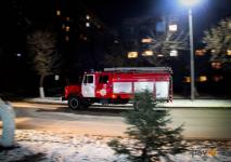 В Павлодаре в железобетонном боксе сгорел человек