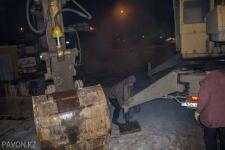 В Павлодаре несколько часов устраняют коммунальную аварию