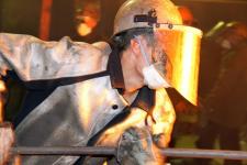 В Аксу во время трудовой смены металлурги устроили состязания