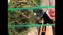 В сети появилось видео жестокого избиения мужчины женщиной