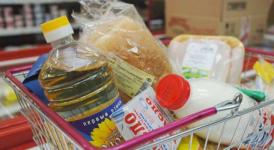 Тройняшки из Павлодара впервые получили продуктовые пакеты в рамках нового формата АСП