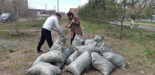 Во время месячника по благоустройству в Павлодаре собрали 23 тысячи тонн мусора