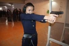 Экибастузские девушки-полицейские оказались лучшими стрелками в Павлодарской области