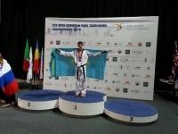 Павлодарский девятиклассник завоевал золотую медаль на чемпионате Европы по паратаэквондо
