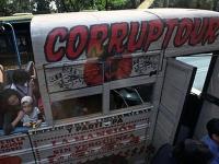 """Бесплатный """"Коррупционный тур"""" организовали в столице Мексики"""