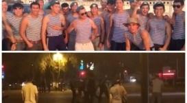 День ВДВ в Актобе завершился потасовкой с полицией