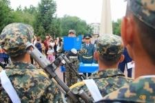 Павлодарский гарнизон национальной гвардиипополнился новыми бойцами
