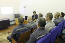О необходимости вакцинации рассказали павлодарским заключенным
