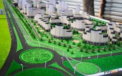 Обновленный проект микрорайона «Достык»презентовали казахстанскому сенатору