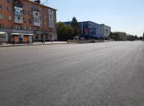 В Павлодаре заасфальтировали первый участок улицы Сатпаева