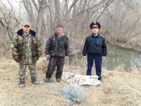 В Прииртышье браконьеры выловили свыше 40 килограммов рыбы