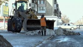 На плохую очистку дорог жалуются павлодарцы