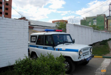 Полицейский помог выбраться пассажиру из горящего автомобиля вблизи поселка Ленинский