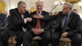 Жириновский и Зюганов объявлены в розыск
