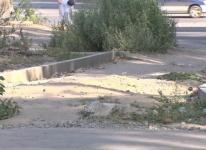 Доделать тротуар просят коммунальщиков жители частного сектора по улице Абая