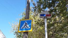 Павлодарские полицейские предлагают установить на дорогах лазерные пешеходные переходы и сферические зеркала