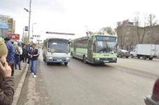 В Караганде пассажир набросился на пожилого водителя автобуса и избил его