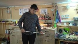 Не воровать детские идеи просят родители юного павлодарского изобретателя Баязета Искакова