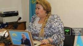 """Бахыт Сыздыкова рассказала о судьбе взятых у НДП """"Нур Отан"""" 7 миллионах тенге"""