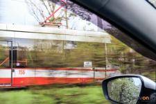 На проспекте Тәуелсіздік начинается замена трамвайной контактной сети