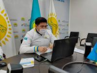 Нуротановцы провели онлайн-встречу с жителями села Мойылды
