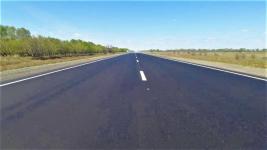 В Павлодарской области с опережением графика отремонтировали участок дороги граница РФ-Майкапшагай