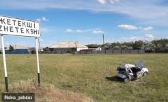 Авто всмятку: женщина погибла в ДТП на трассе в Павлодарской области