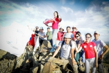Павлодарская молодежь преодолела 4 тысячи километров маршрута по сакральным местам Казахстана