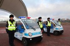 Павлодарскую набережную станут патрулировать полицейские на электромобилях