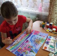 В Павлодаре прошел блиц-конкурс детского рисунка «Салют, Победа!»