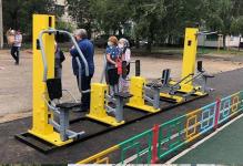 Заявки на установку уличных тренажеров принимают в отделе спорта Павлодара