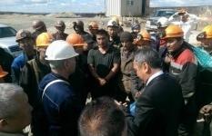 На золотодобывающем предприятии 900 человек могут остаться без работы