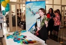 Павлодарским волонтерам вручили торт«Рухани жаңғыру»