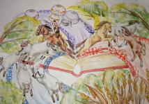 В Павлодаре подвели итоги художественного конкурса, посвященного 175-летию великого Абая