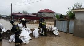 Формирование паводков ожидается в трех областях РК из-за дождей