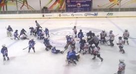 Массовую драку устроили 8-летние хоккеисты на турнире в Казани