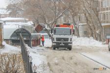 Часть мусора в Павлодаре убрали