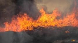 Для павлодарских пожарных наступил сезон степных пожаров