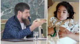 Рамзан Кадыров помог больной девочке из Казахстана